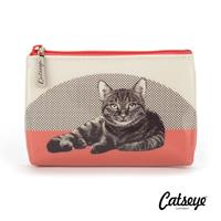 Catseye London Etching Cat Pouch