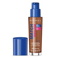 Rimmel London Match Perfection Foundation 30ml (Various Shades) - Chocolate