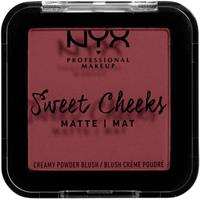 NYX Professional Makeup Sweet Cheeks Creamy Powder Blush Matte Bang Bang