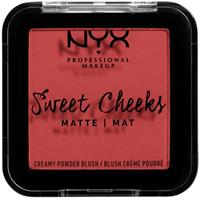 NYX Professional Makeup Sweet Cheeks Creamy Powder Blush Matte Citrine Rose