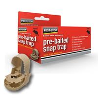 peststop PEST STOP Pre-Baited Snap Rattenval Lokstof 1 stuk(s)