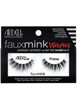 Ardell Lashes - Faux Mink - Wimpers - Wispies-Zwart