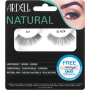 Ardell Lashes Ardell Natural Lashes 117 Black