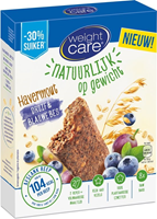 Weight Care Havermout Reep Druif & Blauwe Bes