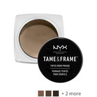 NYX Professional Makeup Tame&Frame Tinted Brow Pomade Black- Brown black.