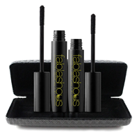 Huismerk Premium Mascara Fablashous 3D Thickening and Lengthening Natural Green Tea Fibre - Zwart