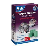 BSI Block tegen muizen 5x20g