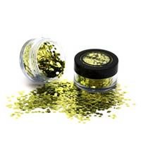 PaintGlow Bio Degradable Chunky Loose Glitter Gold Dust