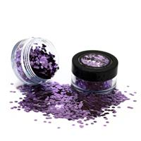 PaintGlow Bio Degradable Chunky Loose Glitter Parma Violet
