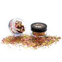 PaintGlow Bio Degradable Blends Chunky Loose Glitter Rose Gold