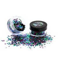 PaintGlow Bio Degradable Blends Chunky Loose Glitter Wild Parrot