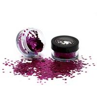 PaintGlow Bio Degradable Chunky Loose Glitter Wild Orchid