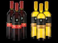 Medici Ermete Probierpaket  Castelli del Duca mit je 3 Flaschen