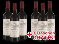 Castel Frères Vorteilspaket 6 für 3 Château Rampeau « La Croix dOr » Bordeaux 2018