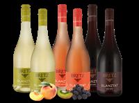 Bretz Weingut Ernst  Probierpaket 3 x 2 Fl. Glanztat Rot - Rosé - Weiß