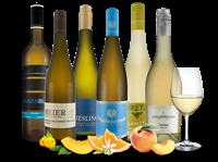 Verschiedene Erlesene deutsche Weißwein-Schätze