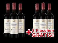 Schröder & Schÿler Vorteilspaket 6 für 3  Château Naudeau Bordeaux