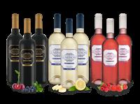 Viñaoliva Spanischer Wein-Genuss LUMINOSO mit je 3 Flaschen Blanco, Rosado & Tinto