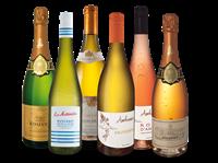 Verschiedene Bestseller-Paket Weine der Loire