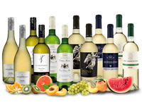 Verschiedene Weißwein-Topseller des Jahres im großen Vorteilspaket
