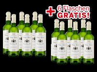 Schröder & Schÿler Vorteilspaket 12 für 6  Château Naudeau Blanc 2018