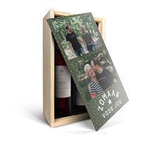 YourSurprise Wein Geschenkset in bedruckter Kiste - Salentein Primus Malbec & Chardonnay