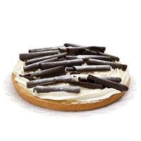 gefelicitaart Chocolade Rijste vlaai