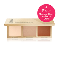 L.O.V Cosmetics The Glowrious Highlighting&Bronzing Palette 010 Rose Addiction
