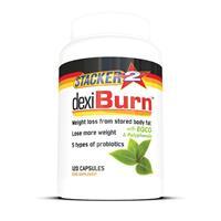 stacker2 Dexi Burn (USA Import) - Stacker 2 • 120 capsules (120 servings) • Afslanken & Probiotica