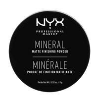 NYX Professional Makeup Mineral Finishing Powder poeder - Light/Medium MFP01