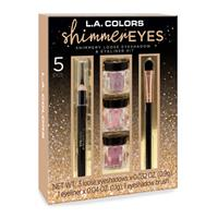 LA Colors Starry Eyes Loose Shimmer Eyeshadow Gift Set