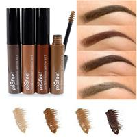 newchic Popfeel Eyebrow Enhancer Gel Waterproof Long Lasting Eye Makeup Colored Brown Black Coffee 4 Colors