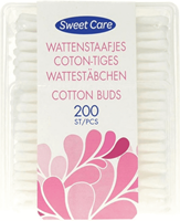 Sweet Care SweetCare Wattenstaafjes - 200 stuks