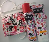 Vogue Girl Geschenkset - Cats Douchegel + Deospray + Schoudertasje
