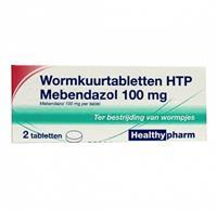 Wormkuurtabletten HTP Mebendazol 100mg