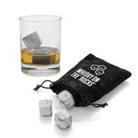 Huismerk Premium Granite Whiskeystenen Licht Grijs - 9 Stuks