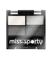 Miss Sporty Oogschaduw studio colour 404 smoky black 1 stuk