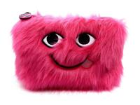 W7 Make-Up/Toilettas - Embroidered Furry Pink