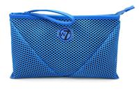 W7 Make-up/Toilettas - Large Mesh Bag Blue