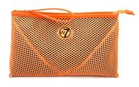 W7 Make-up/Toilettas - Large Mesh Bag Orange