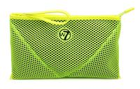 W7 Make-up/Toilettas - Large Mesh Bag Neon Green