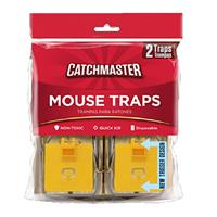 Catchmaster Mouse Snap Trap 2pack