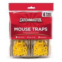 Catchmaster Mouse Snap Trap 4pack
