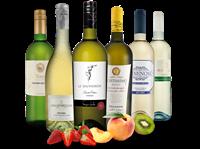Verschiedene Probierpaket Exzellente Weißwein-Selektion