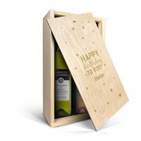 YourSurprise Luc Pirlet Sauvignon Blanc & Syrah - Weinkiste mit Gravur