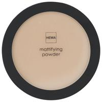 HEMA Mattifying Face Powder 19 Cool Beige (beige)