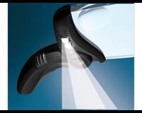 Loep  ergologic rechthoek met licht