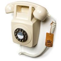GPO 746WALLIVO Rotary telefoon aan muur