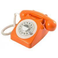 GPO 746 Rotary telefoon oranje