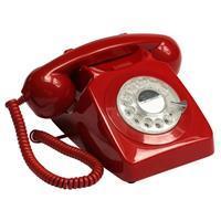 GPO 746ROTARYRED Rotary telefoon